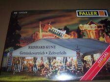 FALLER H0 Kirmes 195329 Festzelt mit Stoffplane und Zubehör