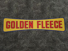 "Golden Fleece ""Dogbone"" self-adhesive vinyl sticker for petrol bowser"