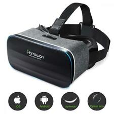 3D VR Headset Virtual Reality Glasses for iPhone 6 6S 7 X Android Phone Kids UK