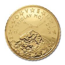 Monnaie 50 centimes cent cts euro Slovénie 2007, neuves du rouleau, UNC