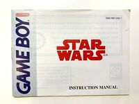 Star Wars Nintendo Game Boy Instruction Manual Book Only