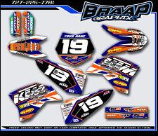 KTM-50 Graphics Decal Kit 2009-2010-2011-2012-2013-2014-2015 KTM-RB