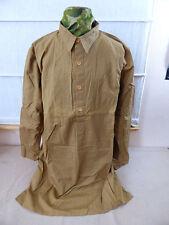 RZM Chemise Uniformhemd Chemise militaire anglaise chemise marron taille L