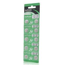 10 pcs AG3 SG3 LR41 192 Alkaline coin Button coin Cell Battery Suncom Pack