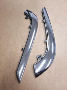 BmW E32 Trim, Front Bumper Chrome Moulding, Left  Right 51111908067 511111908068