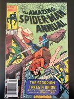 ⭐️ The AMAZING SPIDER-MAN #18 Annual (1984 MARVEL Comics) VF Book