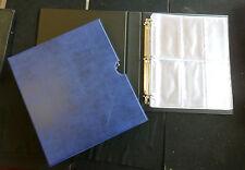 Qualità nuova MEDAGLIA ALBUM & Slip Case con 12 pagine Scelta di Colori