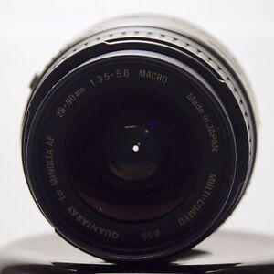 Quantaray Minolta AF 28-90mm F/3.5-5.6 Lens For Minolta