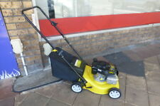 4 Stroke Lawn Mower Yardking With Catcher Demo
