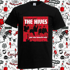 The Hives - Your New Favourite Band Men's Black T-Shirt Size S-3XL