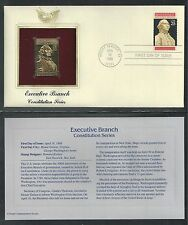 # 2414 EXECUTIVE BRANCH Constitution Series 1989 Gold Foil Cover