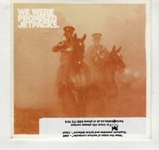 (GV519) We Were Promised Jetpacks, It's Thunder And It's Lightning - 2009 DJ CD
