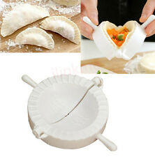 3pcs Kitchen Plastic Dough Press Maker Dumpling Pie Ravioli Making Mold Mould IL