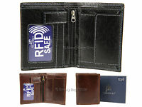 5a212f7c3ee Primehide Mens RFID Blocking Leather Wallet For Cards, Banknotes & Coins -  4153