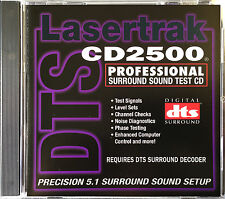 5.1 Surround Sound Test Disc &  REFERENCE CD (DTS) NEW