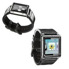 Cuir véritable LUNATIK Chicago iPod nano 6ème 6g bracelet de montre bracelet cas