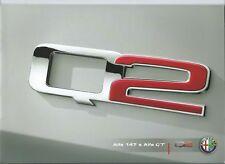 Alfa Romeo 147 Q2 GT Q2 brochure depliant prospekt 2006 langue italienne