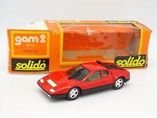 Solido 1/43 - Ferrari 512 BB Rojo Ref 44