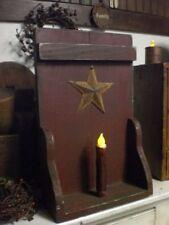 Wooden US-Northeast 2000-Now Antique Primitive Shelves