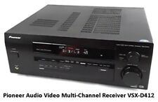 New listing Pioneer Audio Video Multi-Channel Receiver Vsx-D412
