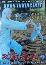 BORN INVINCIBLE  - Hong Kong RARE Kung Fu Martial Arts Action movie - NEW DVD