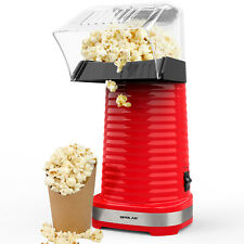 Popcorn Popper Maker Electric Popcorn Machine Party DIY Cartoon Snack Oil-Free