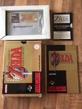 "Super Nes :    ZELDA ""A LINK TO THE PAST""          PAL HOL"