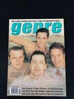 Genre Gay Fashion Magazine August 1998 Jason Scott, Brad Rowe