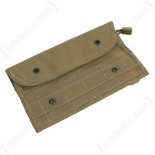 Dark Coyote Molle Wallet Pouch - Army Military Webbing Purse Case 20 x 11.5 cm