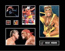 New Hulk Hogan Signed Limited Edition Memorabilia Framed
