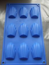 Silicone Madeleine Mould Shell Pan/Tray/Sponge Cake Tin-Biscuits