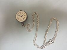 Watch With Sterling Chain Vintage Gosen Extra Lady Ball