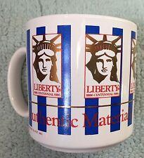 Statue of Liberty Coffee Mug Cup Centennial 1886-1986 Authentic Materials EUC