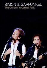 SIMON & GARFUNKEL The Concert In Central Park DVD NEW PAL Region All