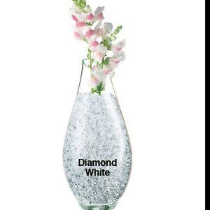 Gel Crystals Clear Diamond White Hydration add water accents wedding decoration