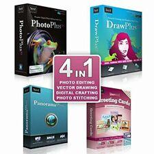 Serif 4 in 1 Image/Photo Editing Software For Windows XP/Vista/7/8/10 + Keys