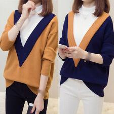 latest Autumn winter Korean fashion elegant High collar Knitting sweater coat