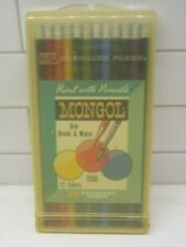 Eberhard Faber Mongol Paint With Pencils Vintage Original Box Unopened w/case