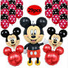 29pcs Minnie Mickey Mouse Large Foil Balloons Kids Birthday Party Decor Supplies