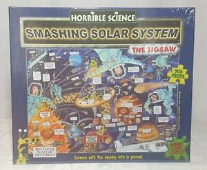 Brand New Horrible Science Smashing Solar System 300 Piece Puzzle, Gift,