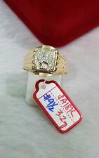 GoldNMore: 18K Gold Men's Ring S9.5