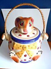 JAPAN / Polka Dots Rabbit / Cookie Jar / A Beauty !