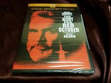 THE HUNT FOR RED OCTOBER COLLECTOR'S EDITION DVD! Widescreen Sean Connery NEW!