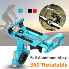 Aluminum 360° Rotating Bicycle Cell Phone Holder Bike Handlebar Mount Universal