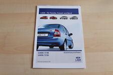 82490) Lada 1118 1119 - Preise & Extras - Prospekt 09/2007