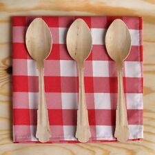 100 /pk  Au Natural Birch Wood Spoon Disposable & Biodegradable