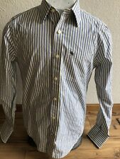 Men's Abercrombie & Fitch Blue Button Down Oxford Dress Shirt Small - Muscle Fit
