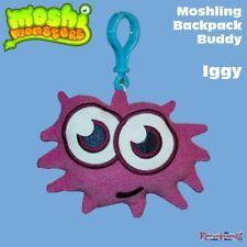 Moshi Monsters Moshling Backpack Buddies IGGY Buddy Plush Soft Keyring Bag Clip