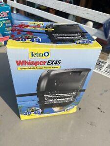 Tetra Whisper EX Aquarium Power Filters EX45 - 240 GPH (30-45 Gallons)
