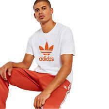 Adidas Originals Trefoil Logo tee Vintage Hombre Camiseta DH5772 Blanco Craft